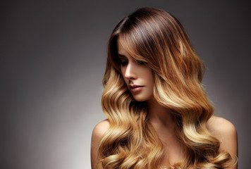 Why Ash Blonde Highlights on Dark Brown Hair Make A Girl Enigmatic